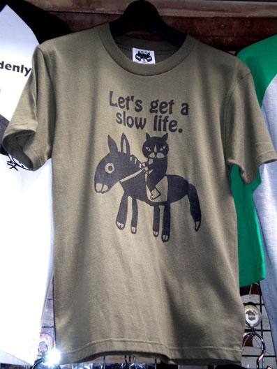 Tシャツ猫とロバ