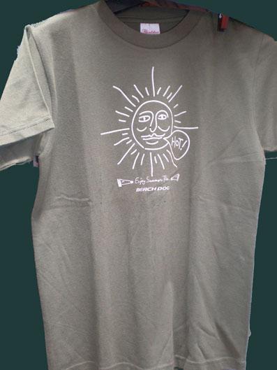 カツミTシャツ太陽おじさん