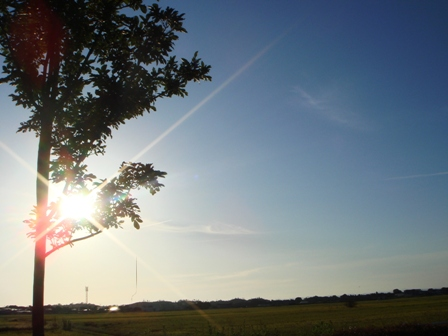 午後5時の風景