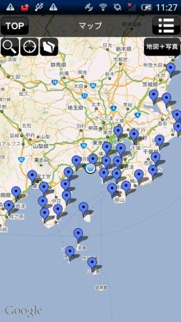 マップ&GPS測位