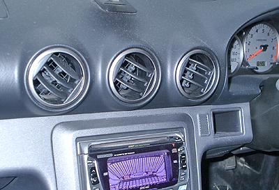 S15シルビアのエアコン吹き出し口