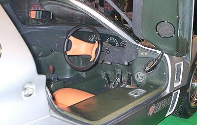 RX500のコクピット