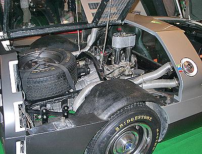 RX500のエンジン