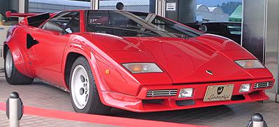 ランボルギーニカウンタックLP500S