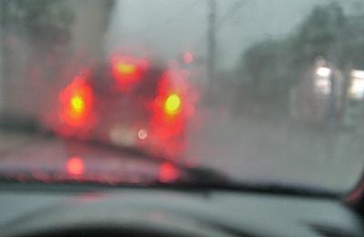 いきなりのゲリラ豪雨