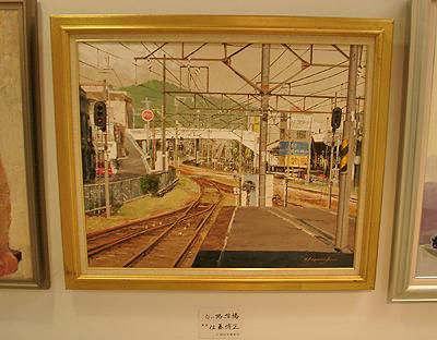 尾道駅ホームからの眺め