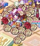 白バラ赤バラ