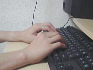 古いキーボード横