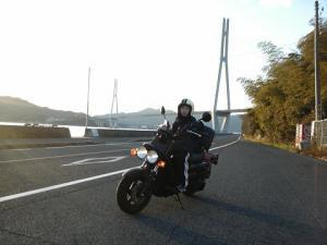 多々羅大橋とPS250