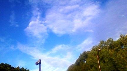 長居公園の空