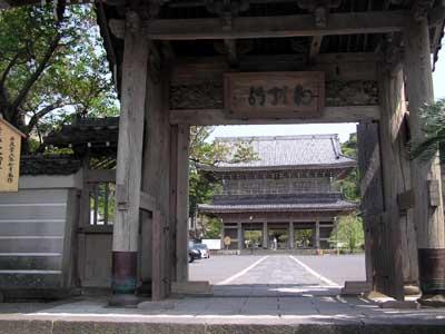 光明寺山門