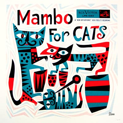 jim flora mambo for cats