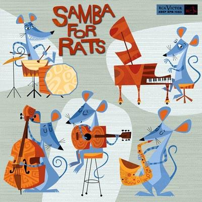 jim flora samba for rats