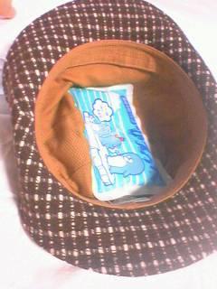 ひんやり帽子