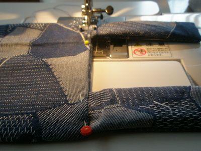 縫ってます