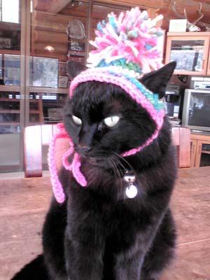 帽子は嫌い!