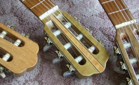 菊ギター第13号ヘッド屋内