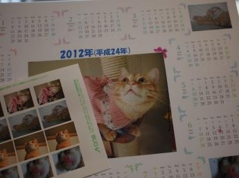 かわいいシールとカレンダー