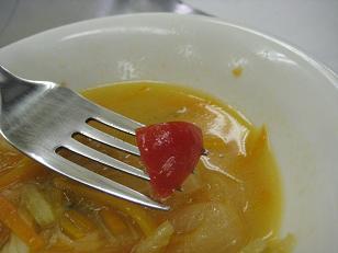 我が家のトマト発見!