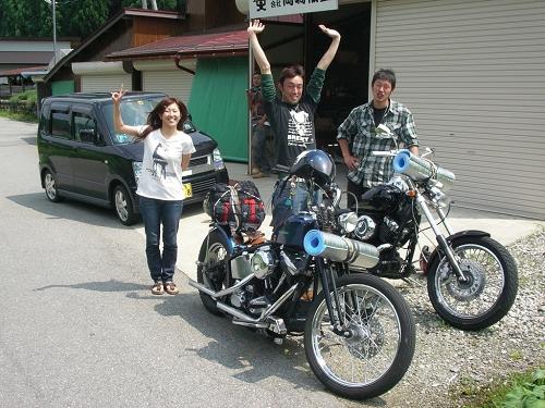 2009高山チョッパーミーテ当日