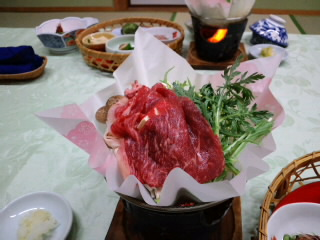 熊野牛の鍋