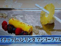 パイナップルのシリンダ マンゴーファルシー