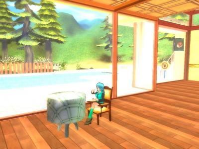窓辺でゆっくりとお茶(*´∀`*)
