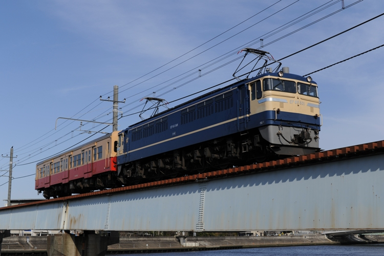 EF65 501+キハ30 62