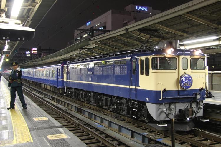EF65 1107 富士はやぶさ代走