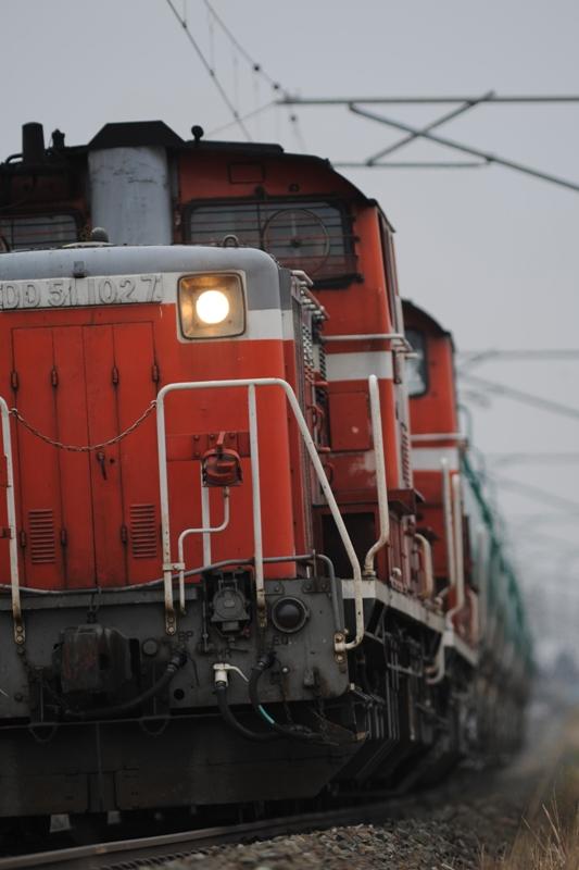 DD51 1027磐越西線