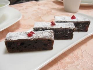 簡単チョコケーキ