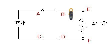 ヒーター電流測定クランプ