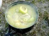 セロリとお鳥様のクリーム煮