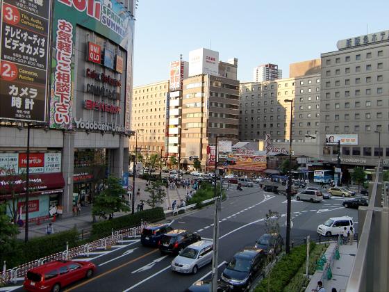 大阪梅田でサマージャンボ06