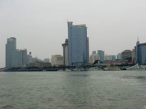 船からの風景