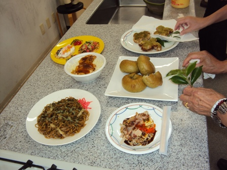 B1グルメの料理