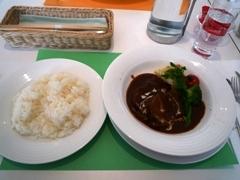 ポーラ美術館での昼食(ビーフシチュー)