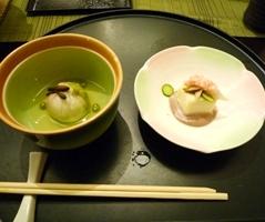 ホテルの夕食3