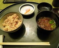 ホテルの夕食5
