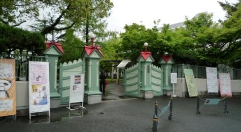 奈良女校門1