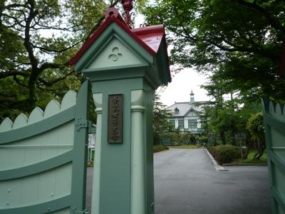 奈良女校門5