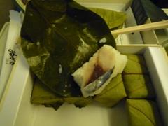 柿の葉寿司6