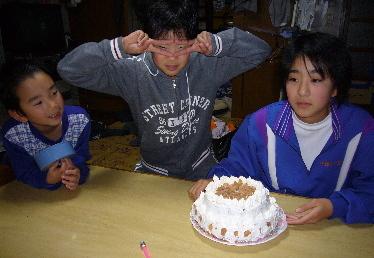 父誕生日ケーキ