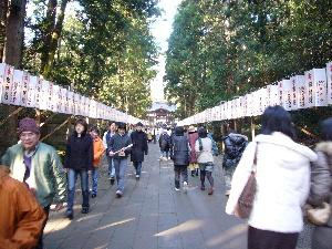 2007年 弥彦神社2