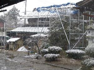 2007年雪