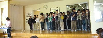 すみれ卒業を祝う会2