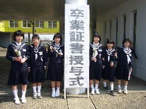 すみれ卒業式3