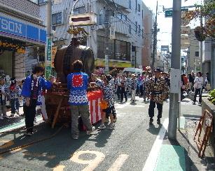 二子玉川お祭り