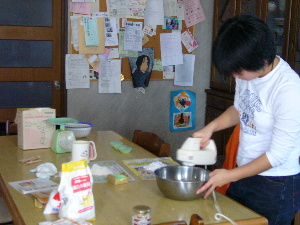 カップケーキ作り