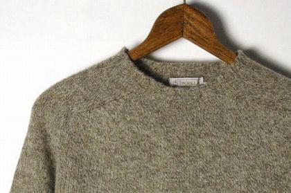 INVERALLAN(インバーアラン)のシェットランド・セーター。